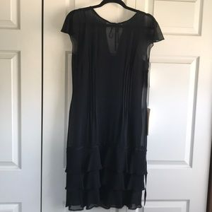 NWT Liz Claiborne Black Dress